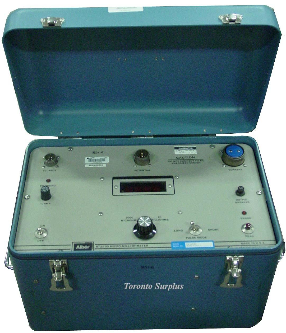 Albercorp RT3-100P / RT3100P Digital Micro-Ohmmeter