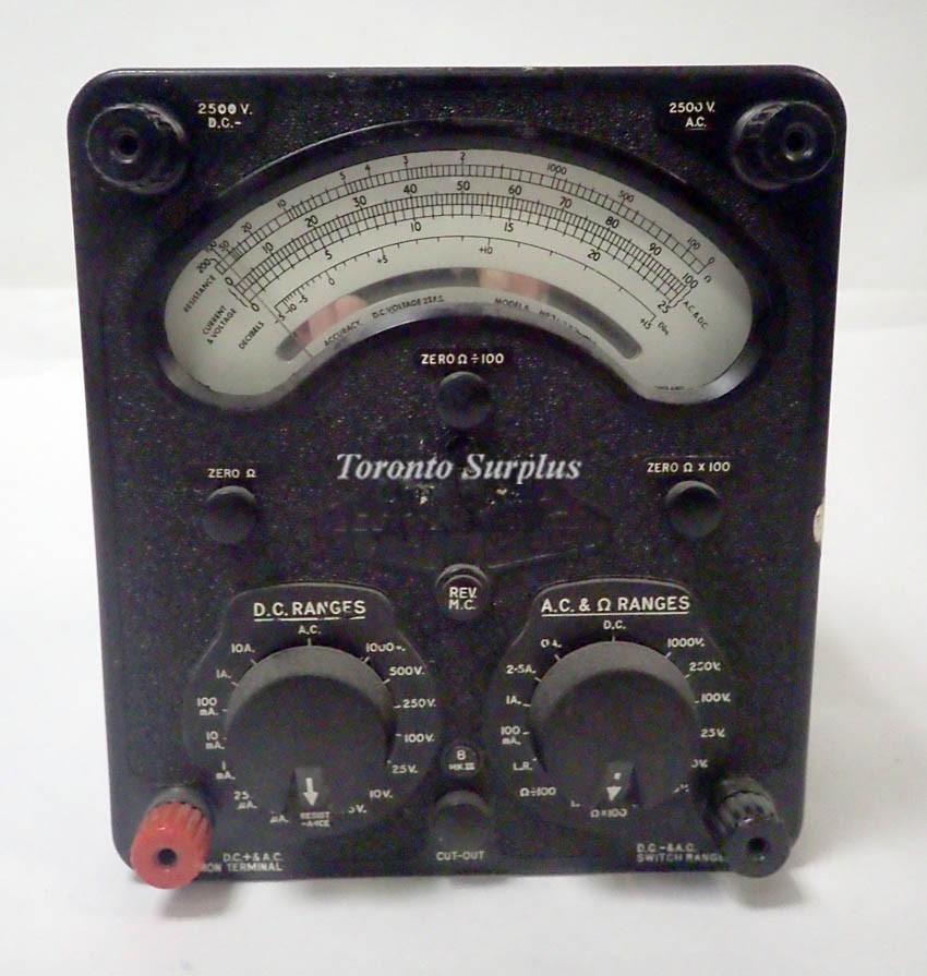 vo Ltd 13574-3.A Model 8 MK III Universal Avometer 2500V DC Max