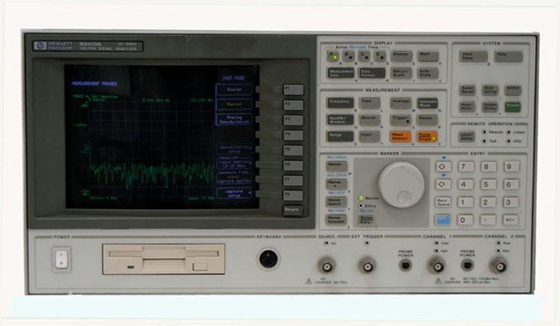 Vector Signal Analyzer : Hp a agilent vector signal analyzer dc to