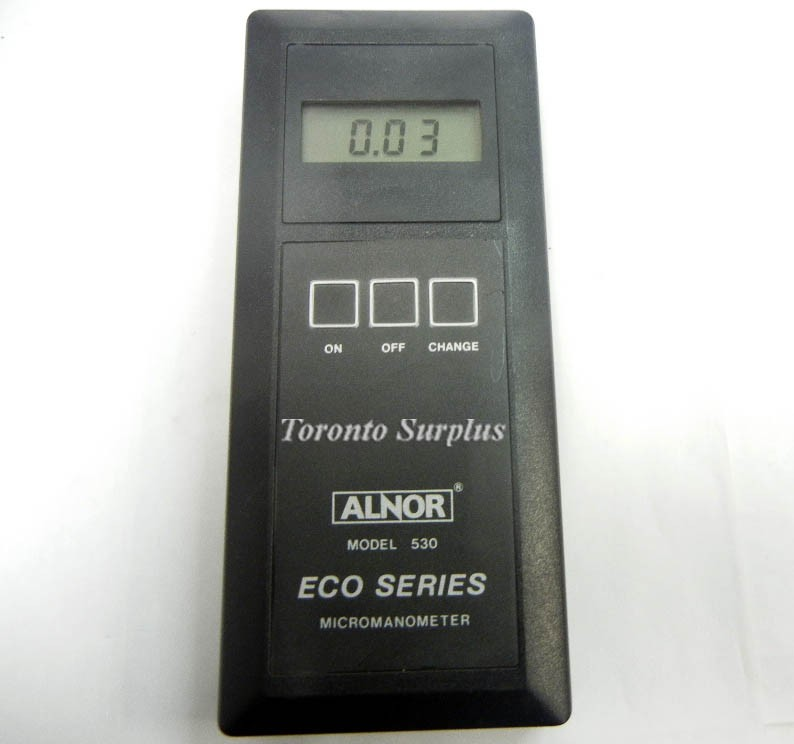Alnor ECO Series 530 Electronic MicroManometer w/ Pouch