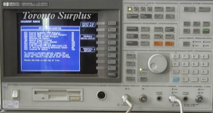 Vector Signal Analyzer : Hp a agilent vector signal analyzer