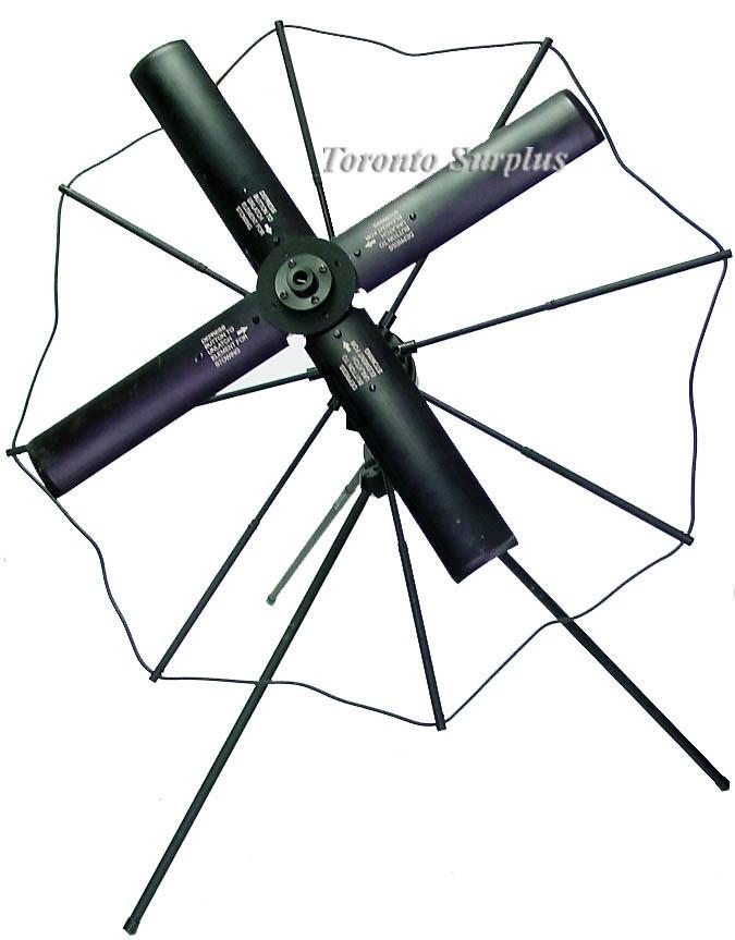 Trivec-Avant AV-2040-2A / AV20402A Portable UHF Satellite Communication Antenna