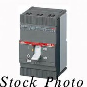 ABB SACE S3 S3N / XR-2394 3 Pole Circuit Breaker, 600VDC, 600VAC, 30A