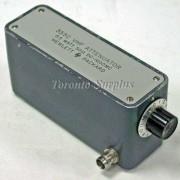 HP 355C / Agilent 355C Manual Step Attenuator DC-1 GHz, 12 dB, OPT 003