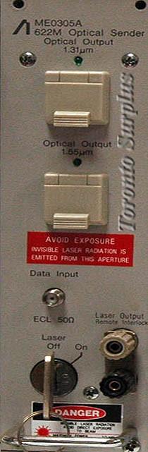 Anritsu ME0305A 622M Optical Sender