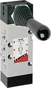 "Camozzi 464-905TF / 464905TF Manual 1/4"" Port Pneumatic Valve BNIB / NOS"