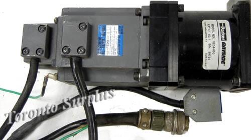 Mitsubishi ha fe23 ul ac servo motor with parker bayside for Parker bayside frameless torque motors