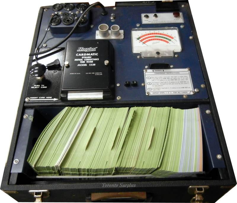 Hickok Cardmatic 123R Tube Tester