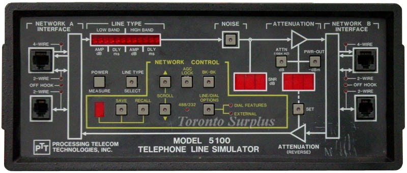 ADTRAN / PTT 5100 Telephone Network Simulator