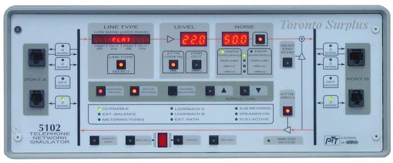 ADTRAN / PTT 5102 Telephone Network Simulator