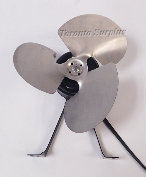Electronic Motors & Spec. ESP-L25EM2 Unit Bearing Fan Motor with Clockwise Fan Blades