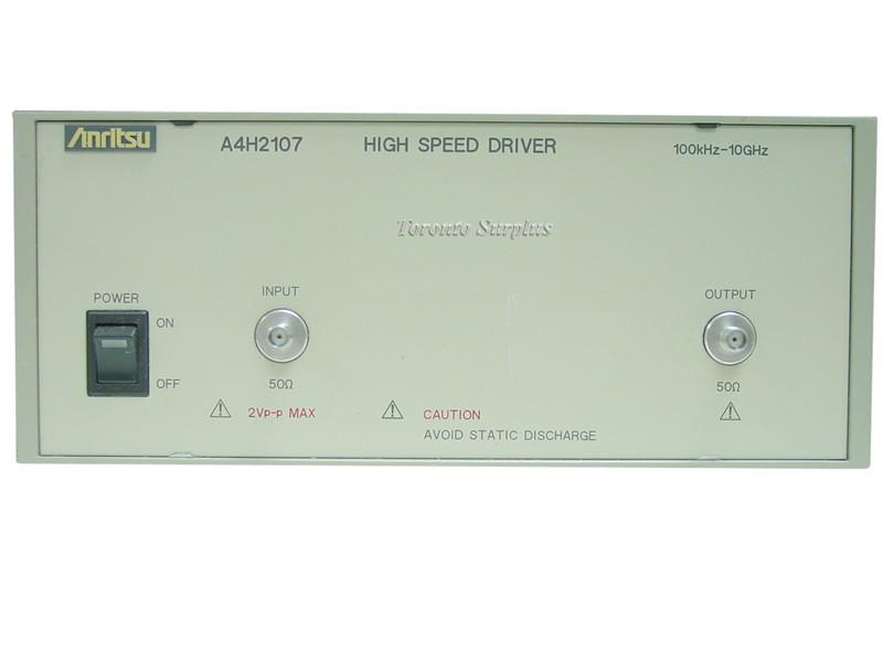 Anritsu A4H2107 High Speed Driver 100kHz-10GHz OPT 01