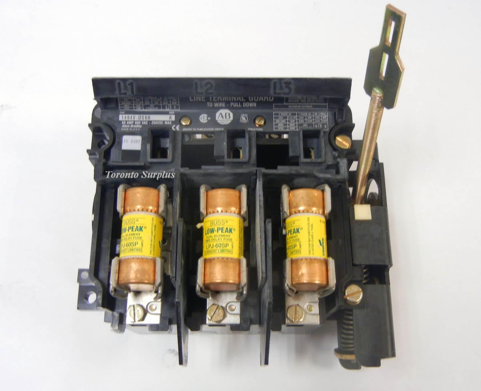 Allen Bradley 1494V-DS60