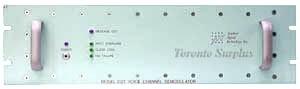 Applied Signal Technology 102 Model 102T Voice Channel Demodulator / Telegraphy Demodulator