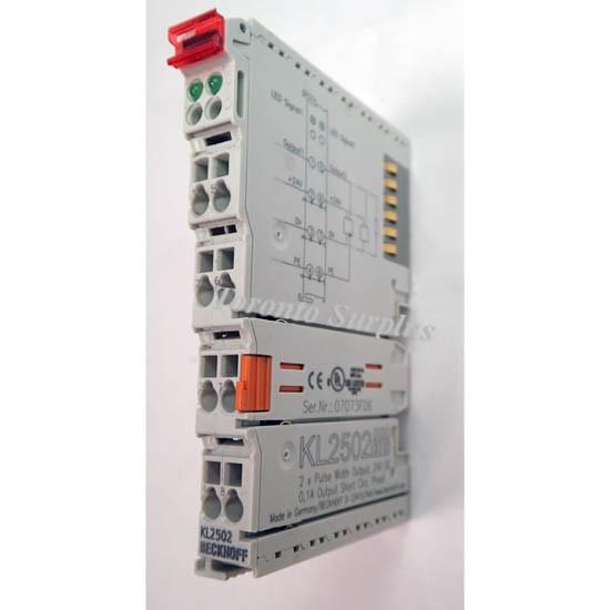 beckhoff kl2502 2 channel pulse width output terminals 24v dc. Black Bedroom Furniture Sets. Home Design Ideas