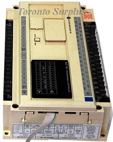 Allen-Bradley / Rockwell SLC150 / SLC 150 1745-LP153 Ser B Programmable Controller Processor Unit