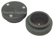 Melles Griot 17 HCS 001 / HCS001 Nanopositioning Spherical Ball Lens Holder / Coupling Sphere