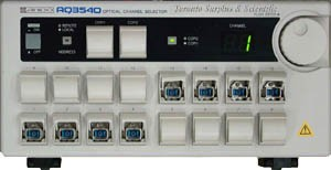 Ando AQ3540 Optical Channel Selector Model AQ3540(12) with GPIB