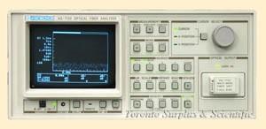 ANDO AQ-7130 Optical Fiber Analyzer with AQ-7132 and AQ-7909