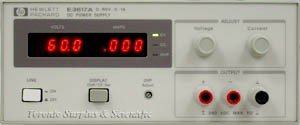 a 60V, 1A HP E3617A / Agilent E3617A Power Supply, 0-60 VDC, 0-1 Amp z1 - SPECIAL PRICE - See AD for details
