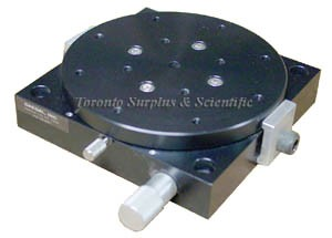 Daedal 10001 Rotary Positioning Stages Low Profile Stage - Worm Gear Drive