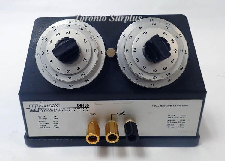 ESI Dekabox DB655 Decade Resistor