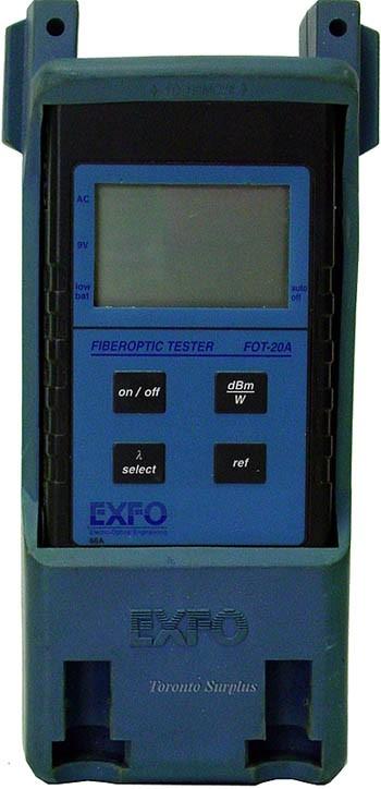 Exfo Fot-20A / Fot20A  FOT-22AX Fiberoptic Tester
