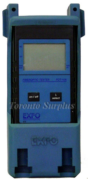 Exfo Fot-10A / Fot10A FOT-12A Fiberoptic Tester