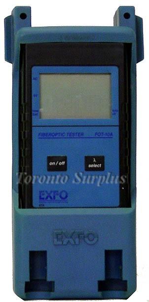 Exfo FOT-10A / FOT10A FOT-12AX Fiberoptic Tester / Power Meter