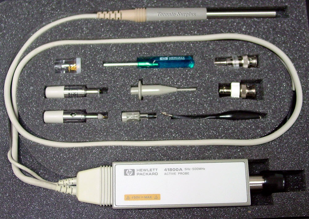 Hp 41800a Agilent 41800a Active Probe 5hz 500mhz