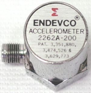 Endevco 2262A Piezoresistive accelerometer
