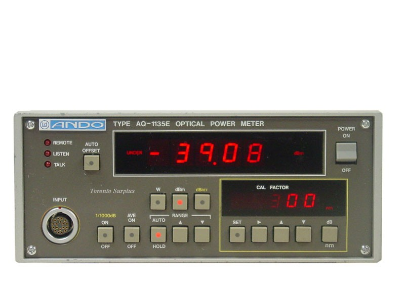 Ando AQ-1135E Optical Power Meter