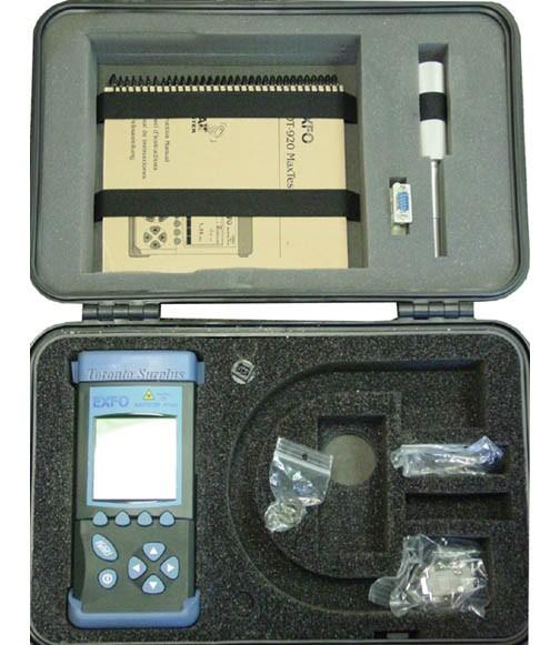 Exfo FOT-920 FOT920 MaxTester Automated Loss Test Set FOT922X-BR23BL-EI VFL-54