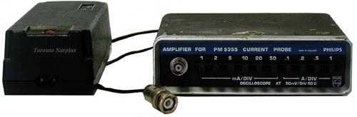 Current Probes In Line : Fluke philips amplifier for pm current probe mv