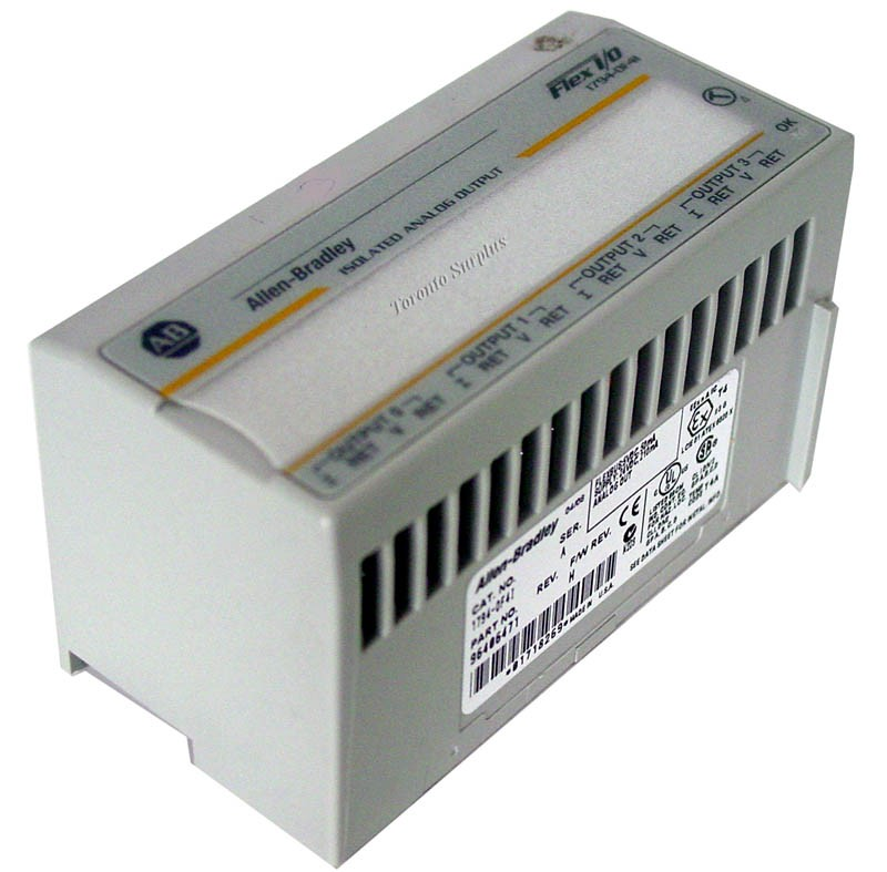 Allen Bradley  1794-0F4I / 17940F4I / 1794-0F4I/A / 96406471 Isolated Analog Output - Ser. A , F/W Rev.H
