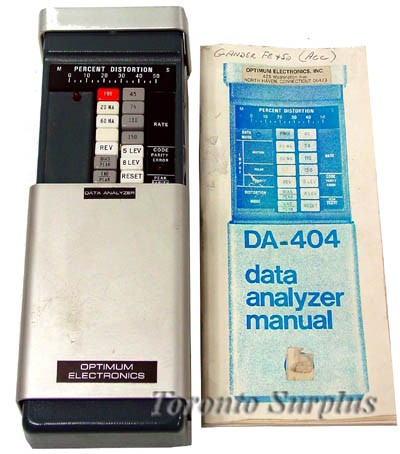 Optimum Electronics DA-404 Data Analyzer