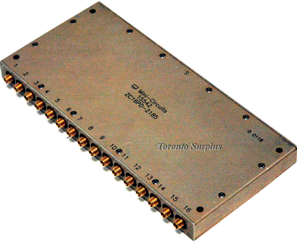 Mini-Circuits 15542 ZC16PD-2185 / 15542 ZC16PD2185 Power Combiner