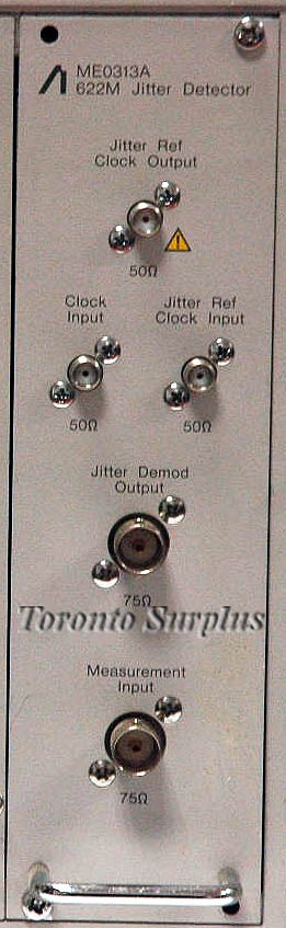 Anritsu ME0313A 622M Jitter Detector