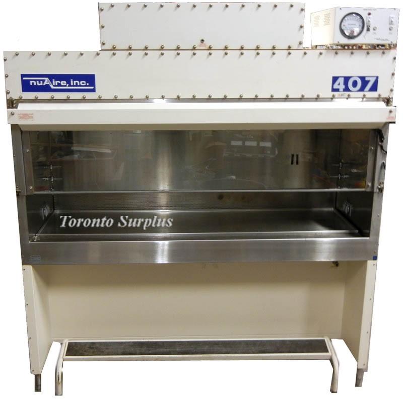 Nuaire NU-407FM-600 6' Biological Safety Cabinet