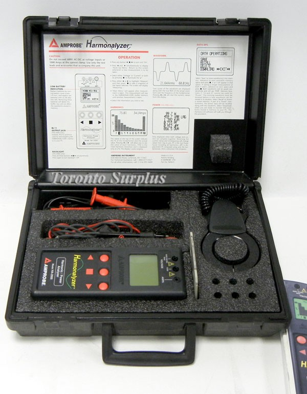 Amprobe HA-2000 Harmonalyzer Harmonic Power Analyzer