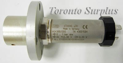 Jumo dTRANS p30 Pressure Transmitter 404366/000, TN 43001584, 1 bar M