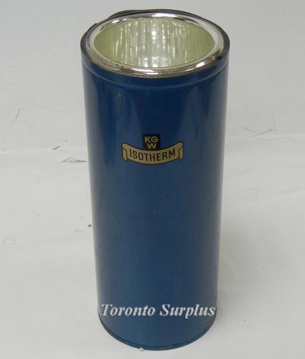 KGW Isotherm C Series Dewar Flask Cylindrical, OD 5.5'x14''', ID 4.25''x11.25''
