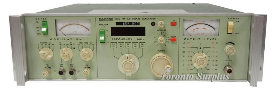 Boonton Electronics 102D FM - AM Signal Generator