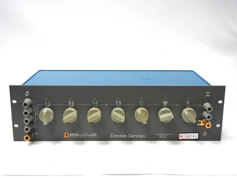 ESI Electro Scientific DT72A Dekatran Standard Decade Transformer