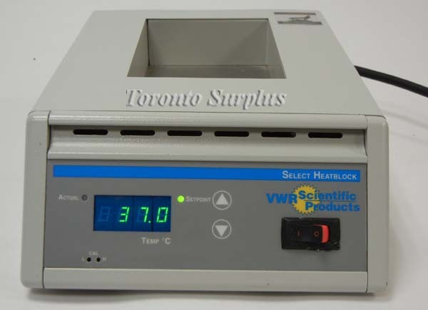 VWR Scientific 949036 Select Digital Heatblock ll, Approx ...