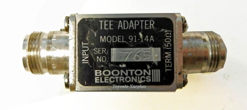 Boonton Electronics Tee Adaptor 91-14A