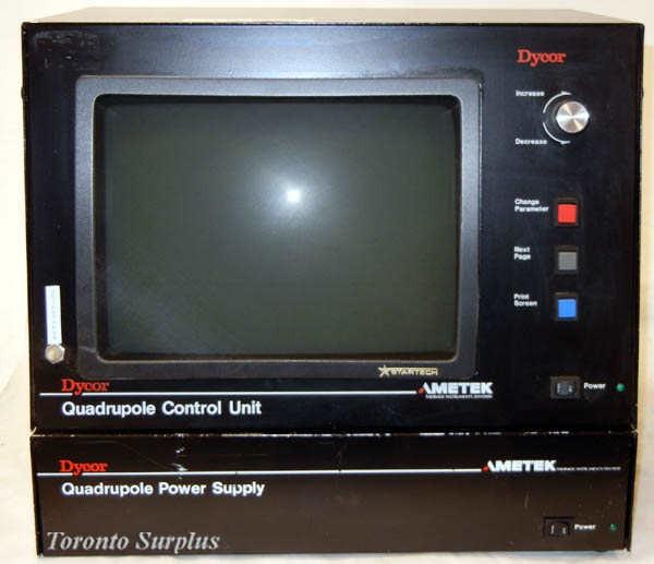 Ametek Dycor M200M Quadruple Control Unit with Quadruple Power Supply