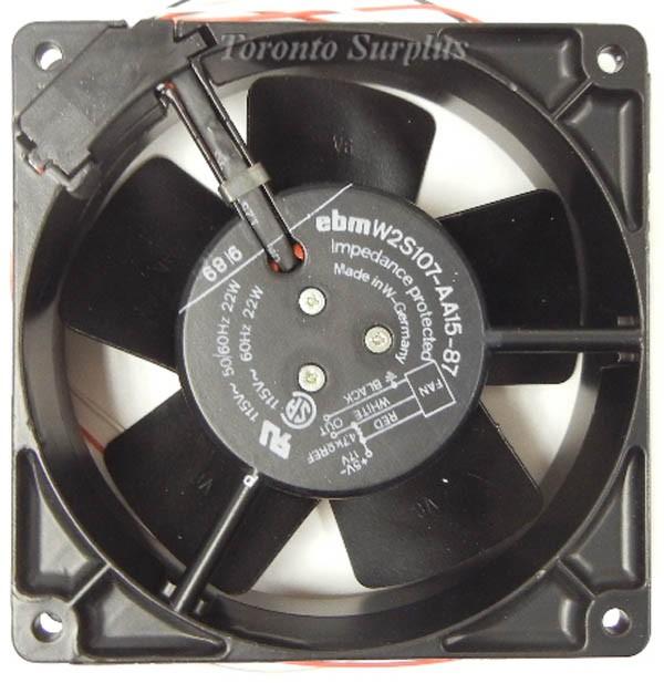 Ebm-Papst Industries W2S107-AA15-87 Tubeaxial Fan