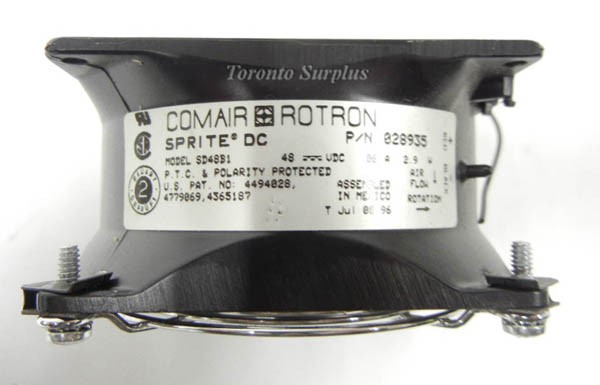 Comair Rotron Sprite Brushless Fan