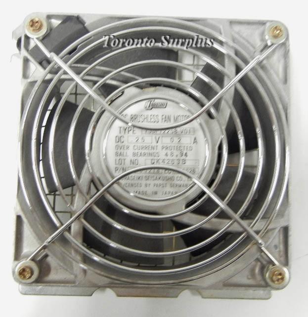 Tobishi TSDF12258-VO1 DC Brushless Enclosed Fan
